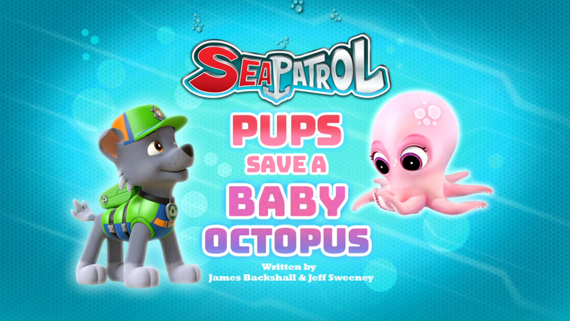 Sea Patrol Pups Save A Baby Octopus Paw Patrol Wiki