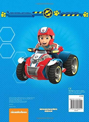 image nickelodeon paw patrol 2016 annual back paw patrol wiki fandom powered by. Black Bedroom Furniture Sets. Home Design Ideas