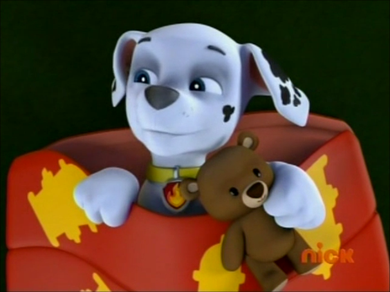 File:Marshall and his cute widdle teddy bear.png