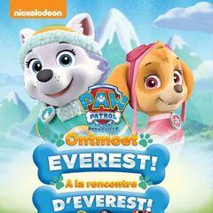 Belgian-Dutch cover (<i>Ontmoet Everest!</i> / <i>À la rencontre d'Everest&#160;!</i>)