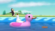 'Oh hey, penguin'