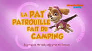 PAW Patrol La Pat' Patrouille La Pat' Patrouille fait du camping