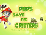 Pups Save the Critters