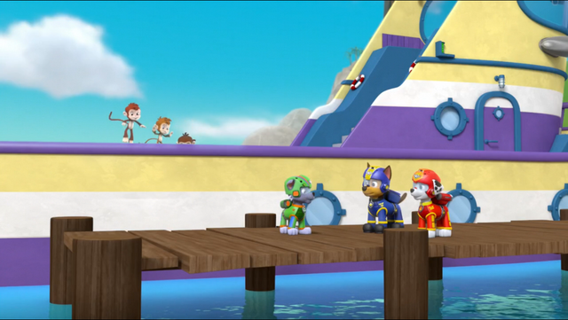 File:PAW Patrol Air Pups Marshall Chase Rocky Flounder.png