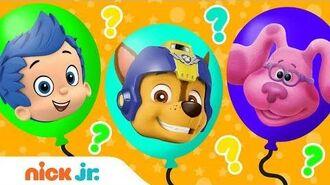 Balloon Popping Fun! Ep. 6 🎈 w PAW Patrol, Blaze & Blue's Clues & You! Nick Jr.