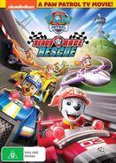 PAW Patrol Ready Race Rescue DVD Australia