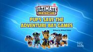 Ultimate Rescue Pups Save the Adventure Bay Games (temp)