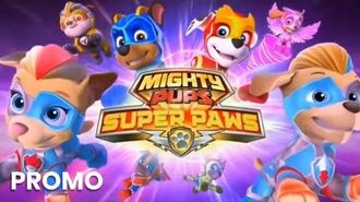 Mighty Pups, Super Paws Meet The Mighty Twins Promo 2 Paw Patrol Nick Jr.