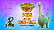 Pups Save a Hum-Dino (HQ)