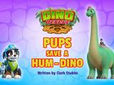 Dino Rescue: Pups Save a Hum-Dino