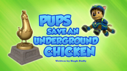 Pups Save an Underground Chicken (HQ)