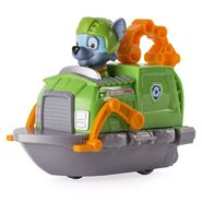 PAW Patrol Rocky Tugboat Boat Toy Figure Rescue Racers 3