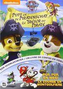 PAW Patrol Pups and the Pirate Treasure DVD Belgium-Netherlands
