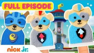 PAW Patrol Mighty Pups Meet the Mighty Twins! 🤩 Pinkie Pals Adventures Ep 5 Nick Jr.