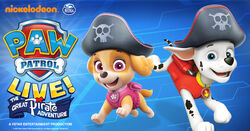 PAW Patro Live - The Great Pirate Adventure