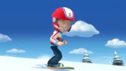 Snowboarding Ryder