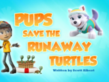 Pups Save the Runaway Turtles