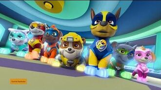 PAW Patrol Mighty Pups Trailer Paramount Pictures Australia
