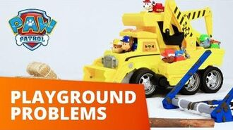 PAW Patrol Playground Problems Toy Episode