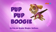 PAW Patrol Pup Pup Boogie Italiano