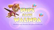 Pups Save Walinda