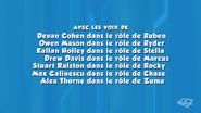 PAW Patrol French Cast Credits 04