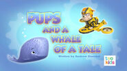 PAW Patrol Pups and a Whale of a Tale Title Card
