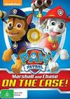 PAW Patrol Marshall and Chase on the Case! DVD Australia
