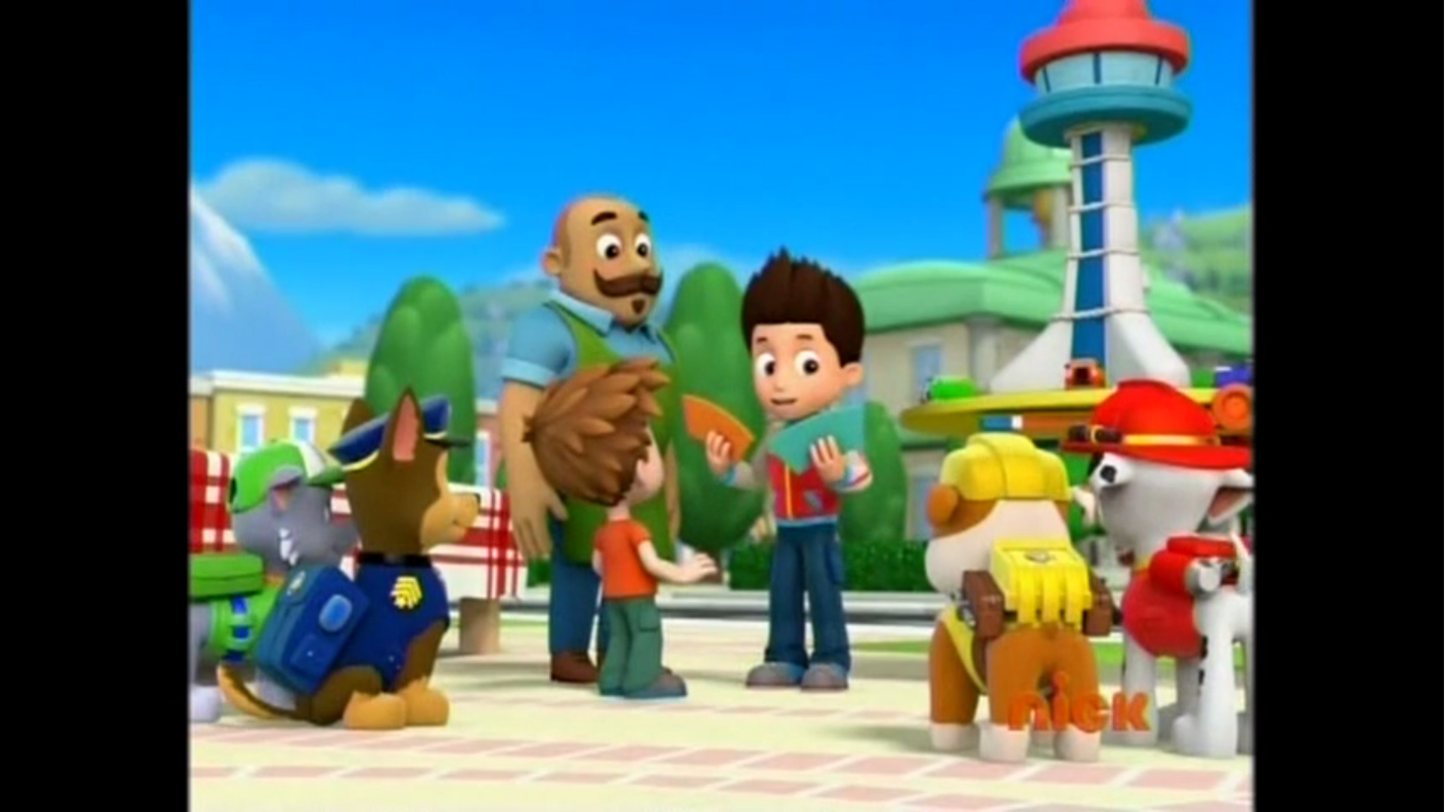 Mr porter gallery pups take the cake paw patrol wiki for Mister porter