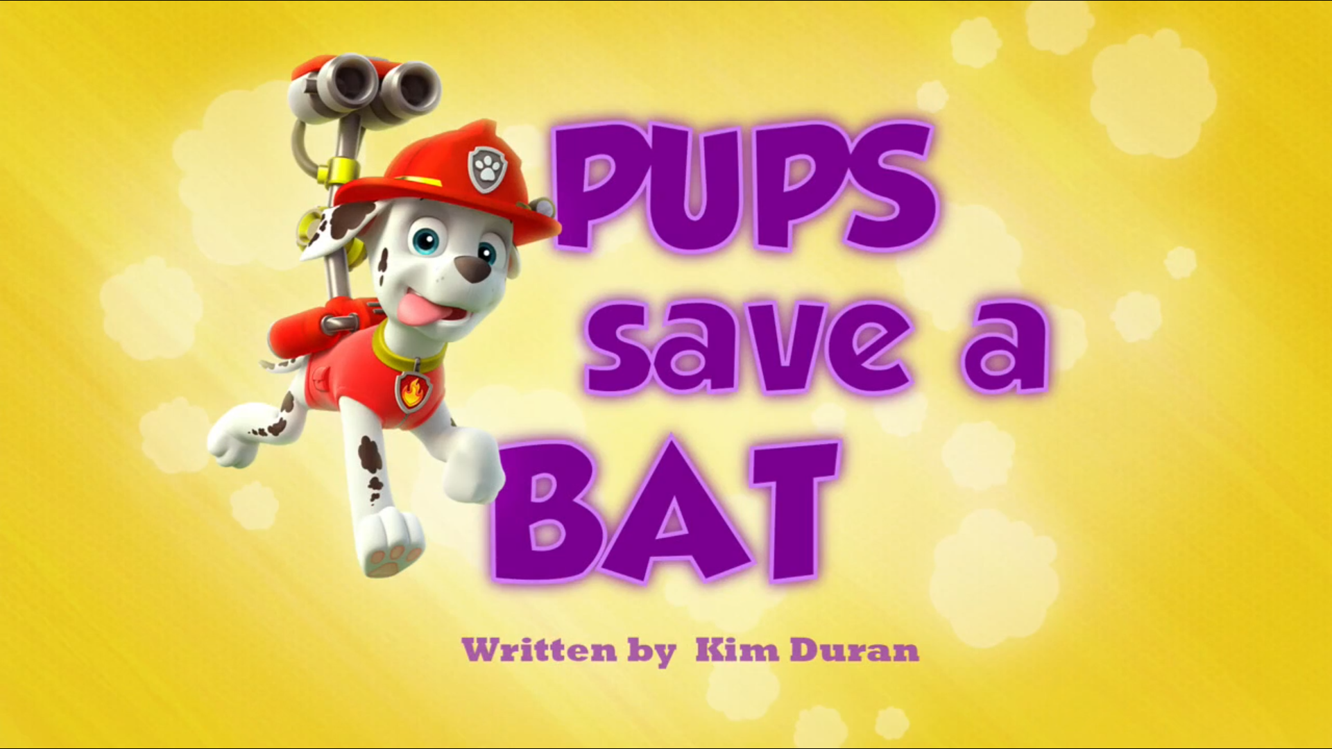 Pups Save a Bat | PAW Patrol Wiki | FANDOM powered by Wikia