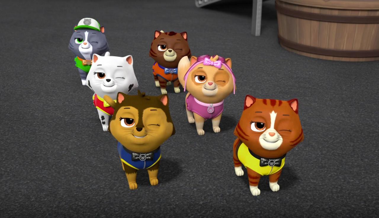 Kitten Catastrophe Crew PAW Patrol