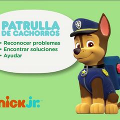 More recent <i>Patrulla de Cachorros</i> bumper with Chase on Nickelodeon Latin America and Nick Jr. Latin America