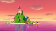 PAW Patrol 321B Scene 1 Seal Island Lighthouse