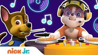 DJ Rubble's PAWesome Playlist Dance Party 3 🎛️ w PAW Patrol, Dora & Bubble Guppies! Nick Jr.