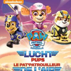 Belgian-Dutch cover (<i>Lucht pups</i> / <i>Le Pat' Patrouilleur de l'air</i>)