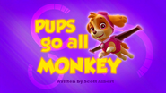 Pups Go All Monkey (HD)