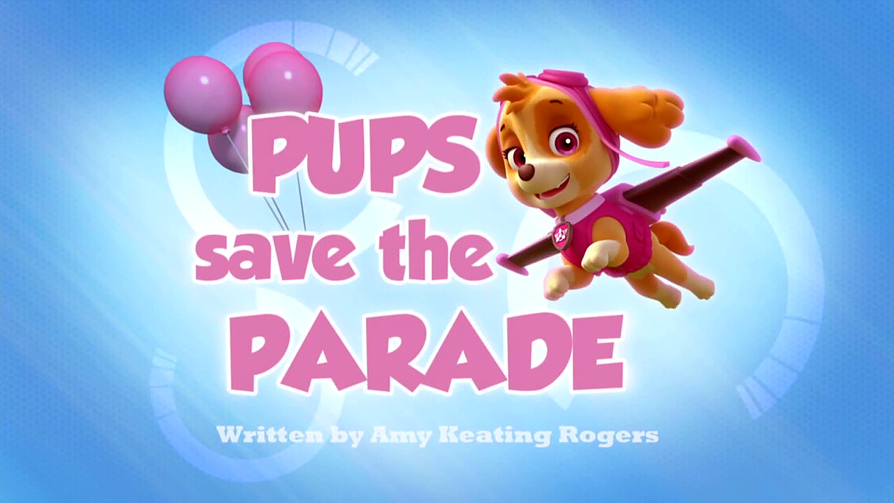 Pups Save Christmas Book.Pups Save The Parade Paw Patrol Wiki Fandom Powered By Wikia