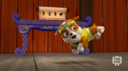 Pup-Fu!4(Rubble Flying Kick)