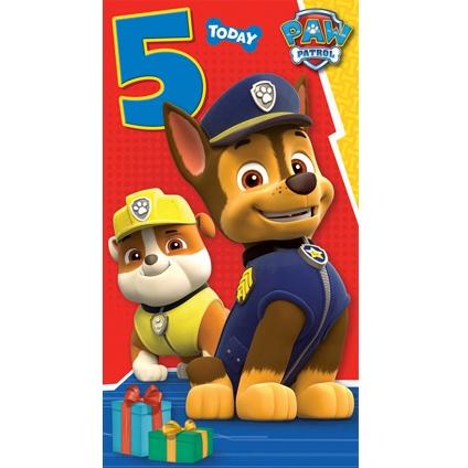 Image Birthday Card 5 Year Oldg Paw Patrol Wiki Fandom