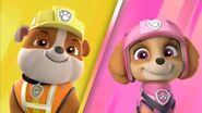Paw patrol ultimate rescue rubble and skye by lah2000 ddwmu1t-pre