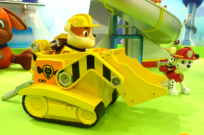Coloring Pages Paw Patrol Rubble : Image paw patrol cars and figures g paw patrol wiki fandom