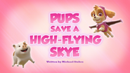 Pups Save a High-Flying Skye (HQ)