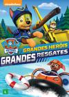 PAW Patrol Brave Heroes, Big Rescues DVD Brazil