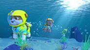 Rubble sea patrol scuba suit
