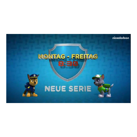 A German commercial for the series premiere