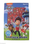 Sticker book 4 sheets