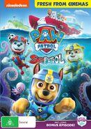 PAW Patrol Sea Patrol DVD Australia