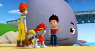 PAW Patrol - Baby Whale with Ryder, Pups and Cap'n Turbot - Very Big Baby 7