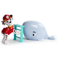 PAW Patrol - Rescue Set - Marshall and Baby Whale 2