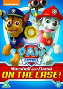PAW Patrol Marshall and Chase on the Case! DVD UK